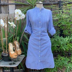 Gap stripe shirt dress